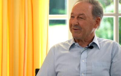 Industrieller Norbert Zimmermann im Talk